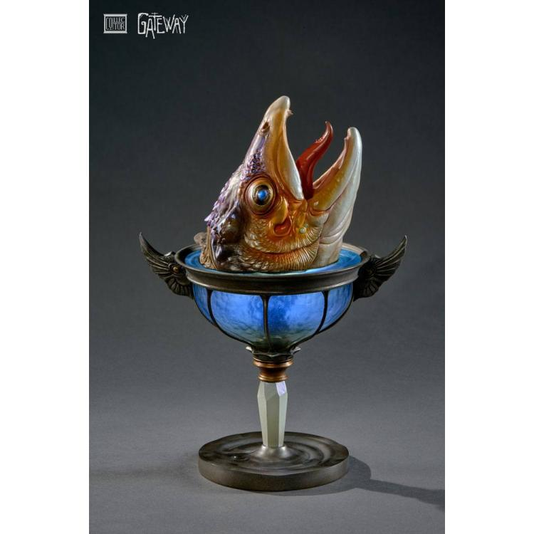Gateway Statue Lamp of the Great Fish 30 cm