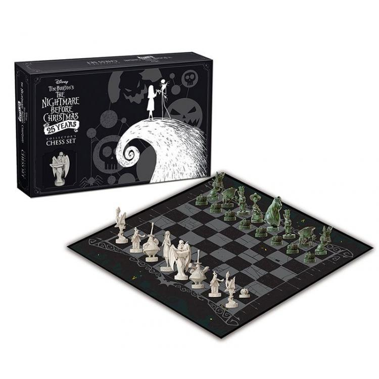 Nightmare before Christmas Chess Collector\'s Set 25 Years