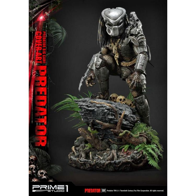 Predator Statue Big Game Cover Art Predator 72 cm