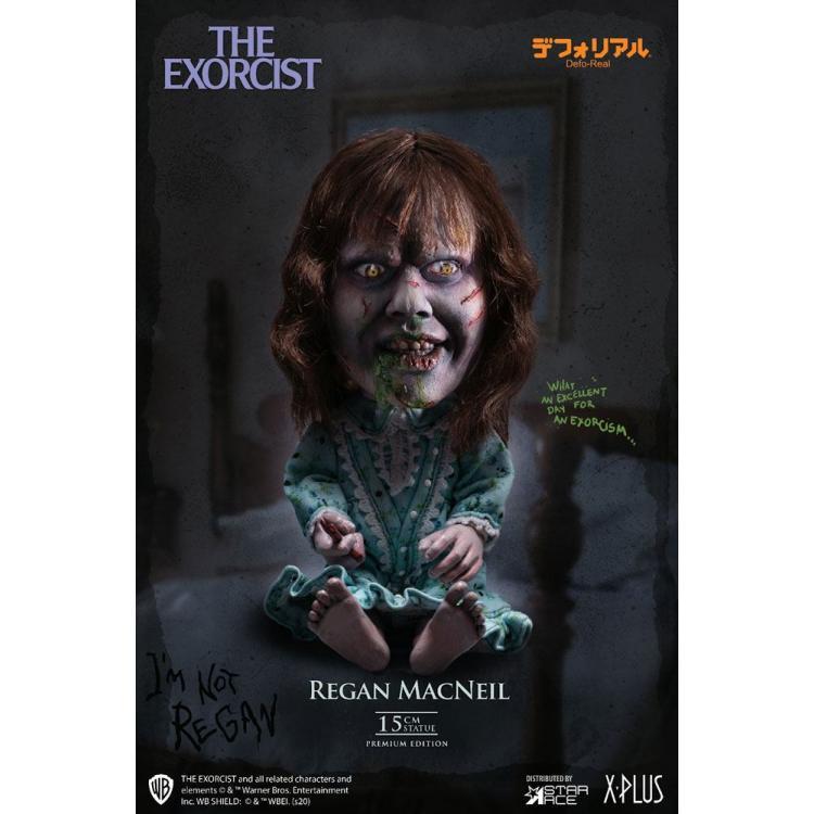 El Exorcista Figura Defo-Real Series Regan MacNeil 15 cm