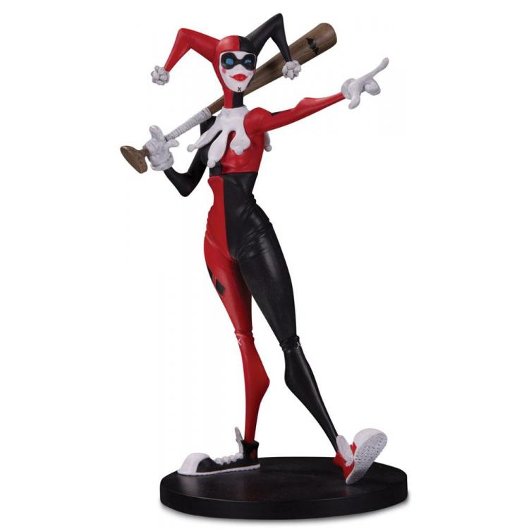 DC Artists Alley Figura Harley Quinn by Hainanu Nooligan Saulque 17 cm