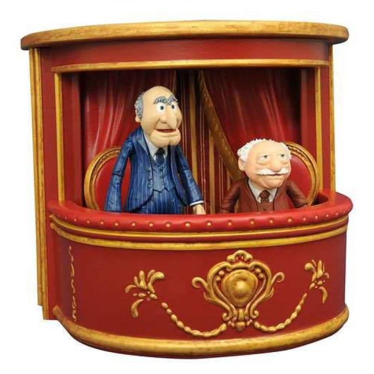 The Muppets Select Pack de 2 Figuras 8-13 cm Serie 2 Statler & Waldorf