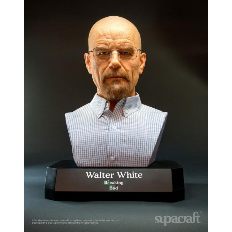 Breaking Bad Busto tamaño real Walter White 54 cm