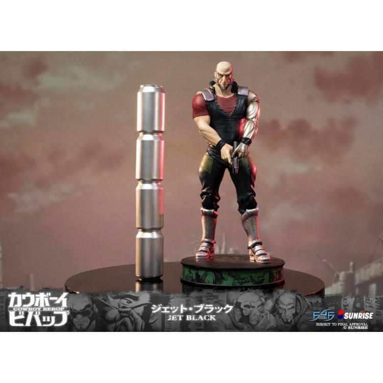 Cowboy Bebop Statue Jet Black 52 cm