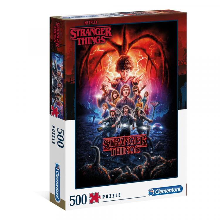 Stranger Things Jigsaw Season 2 (500 pieces)