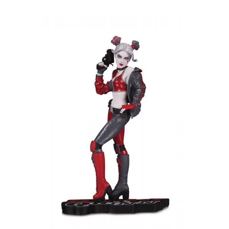 DC Comics Red, White & Black Statue Harley Quinn by Joshua Middleton 19 cm