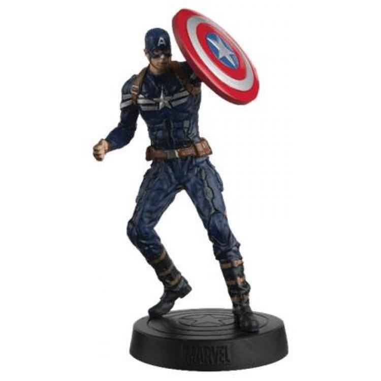Marvel Movie Collection 1/16 Captain America 14 cm