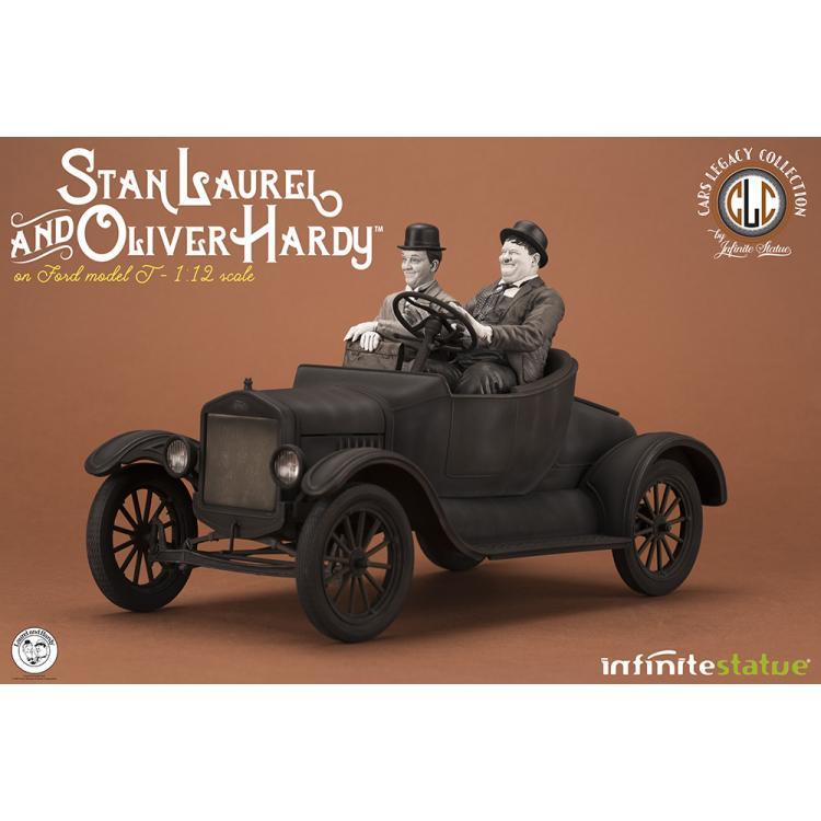LAUREL & HARDY SOBRE MODELO T 1/12 RESIN ST