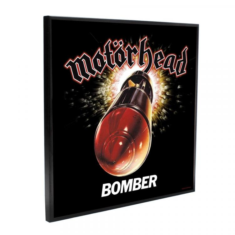Motörhead Crystal Clear Picture Bomber 32 x 32 cm