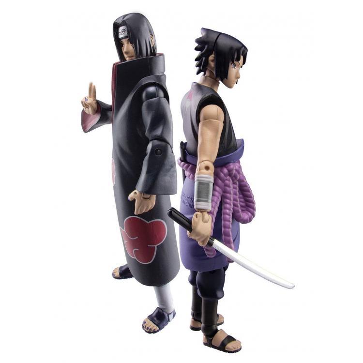 Naruto Shippuden Action Figure Set Sasuke vs. Itachi 2018 SDCC