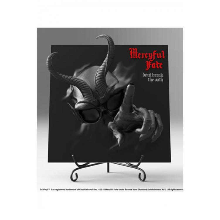 Mercyful Fate Estatua 3D Vinyl Don\'t Break the Oath Darkness Version 30 cm