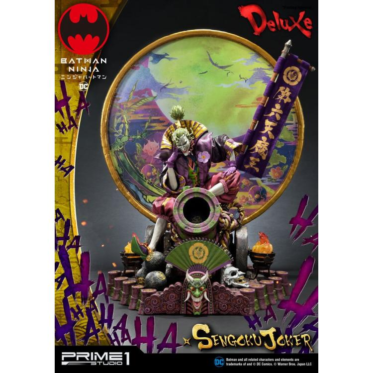 Batman Ninja Estatua Sengoku Joker Deluxe Version 71 cm