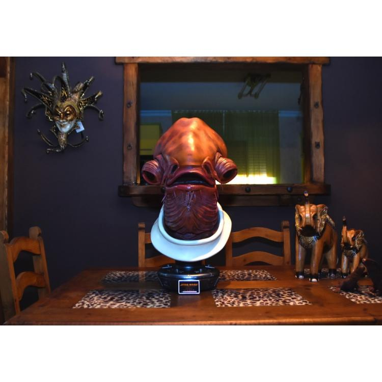 STAR WARS ADMIRAL ACKBAR LIFE-SIZE BUST SIDESHOW