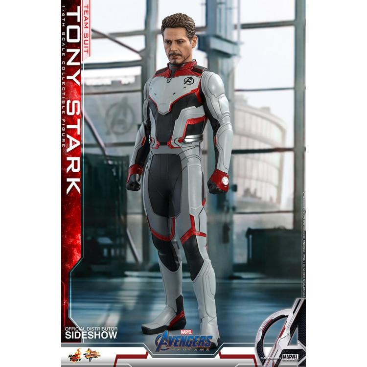 Tony Stark (Team Suit) Sixth Scale Figure by Hot Toys Avengers: Endgame - Movie Masterpiece Series
