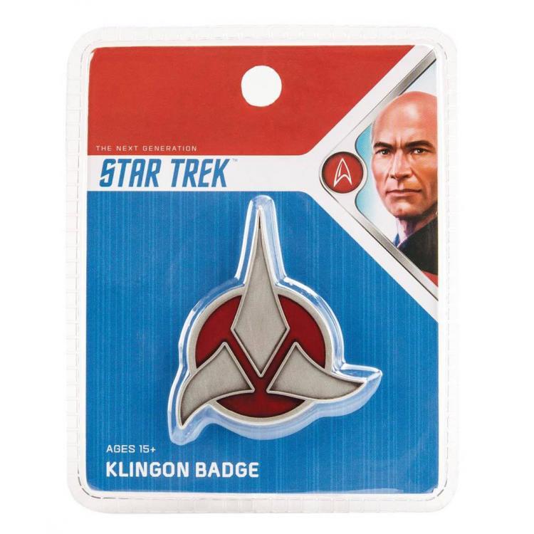 Star Trek réplica 1/1 Klingon Emblem Badge magnético