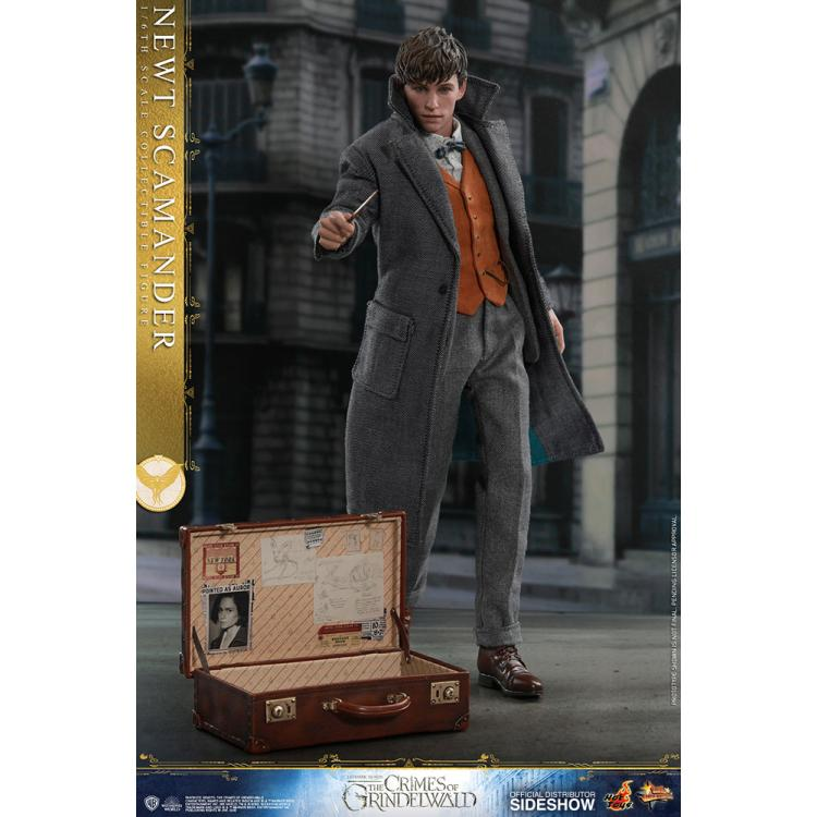ANIMALES FANTASTICOS Newt Scamander  Sixth Scale Figure by Hot Toys