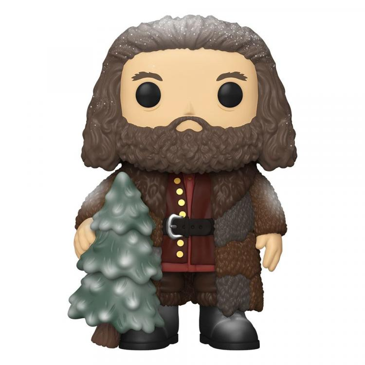 Harry Potter Figura Super Sized POP! Vinyl Holiday Rubeus Hagrid 15 cm