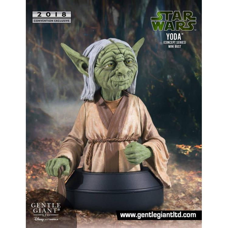 Star Wars Busto 1/6 Yoda Concept Series SDCC 2018 Exclusive 16 cm