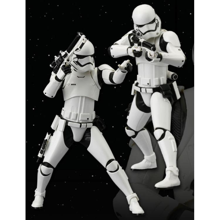 Star Wars Episode VII Pack de 2 Estatuas ARTFX+ First Order Stormtrooper 18 cm