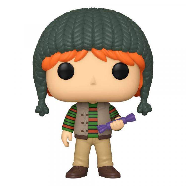Harry Potter Figura POP! Vinyl Holiday Ron Weasley 9 cm