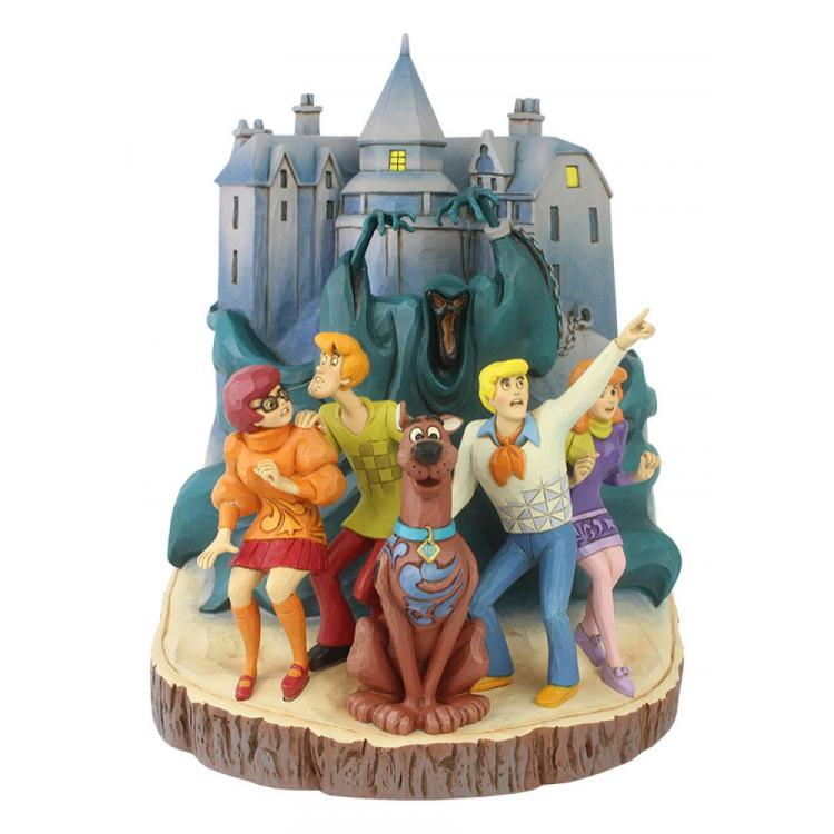 Scooby-Doo Statue Carved by Heart 23 cm