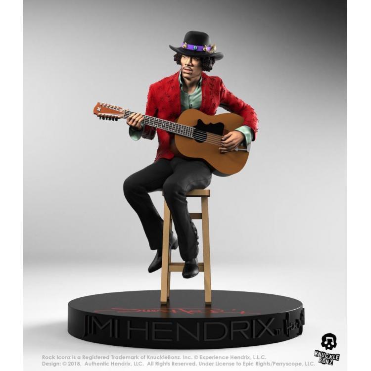 Jimi Hendrix Rock Iconz Statue 1/9 Jimi Hendrix II 21 cm