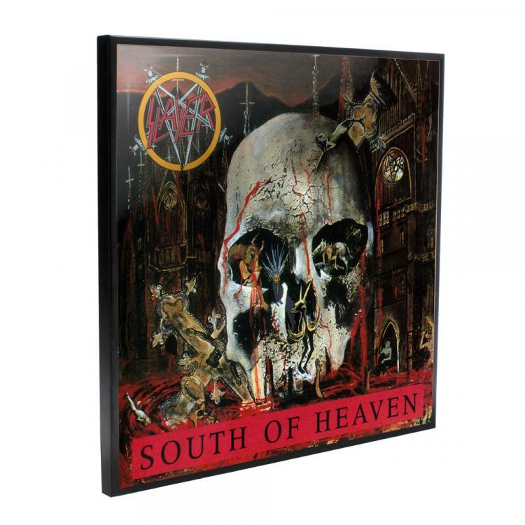Slayer Crystal Clear Picture South of Heaven 32 x 32 cm