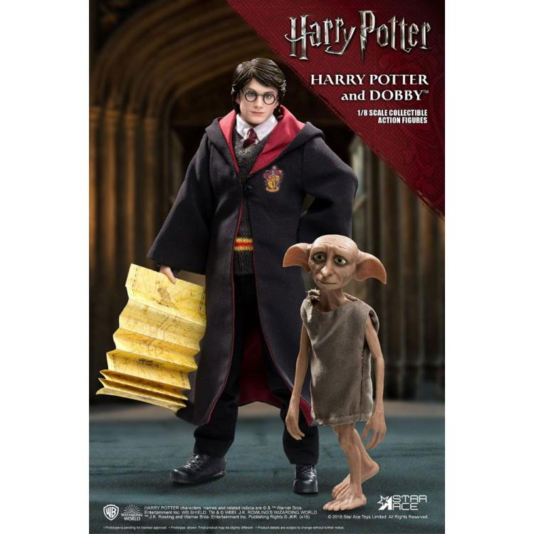Harry Potter Pack de 2 Figuras Real Master Series 1/8 Harry & Dobby 16-23 cm