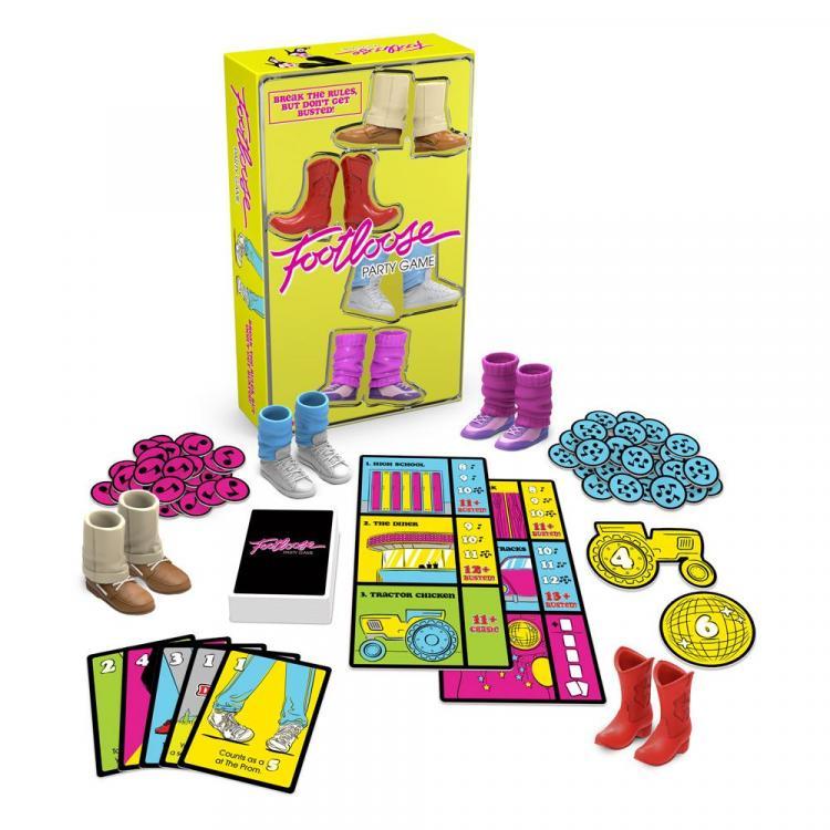 Footloose Party Game Juego de Cartas *Edición Inglés*