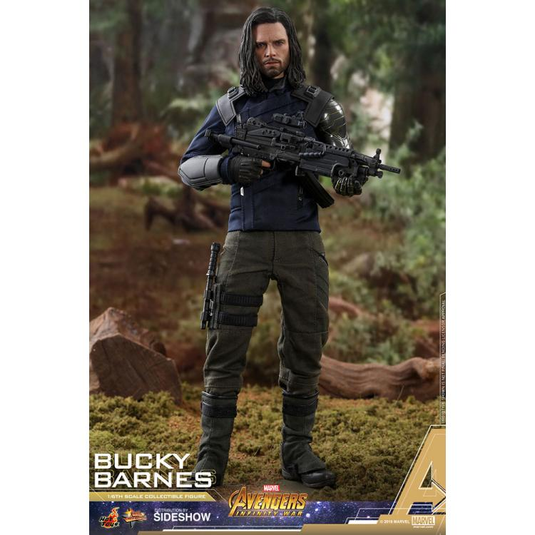 Bucky Barnes Sixth Scale Figure by Hot Toys Avengers: Infinity War - Movie Masterpiece Series