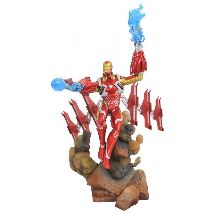 Vengadores Infinity War Marvel Movie Gallery Estatua Iron Man MK50 23 cm