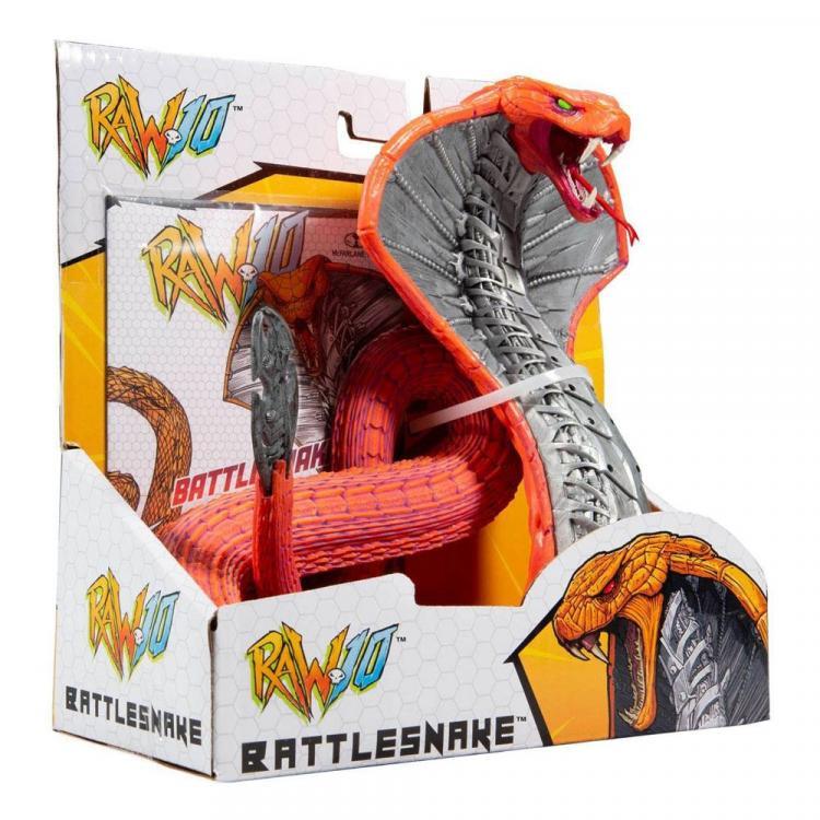 RAW 10 Action Figure Battlesnake 16 cm