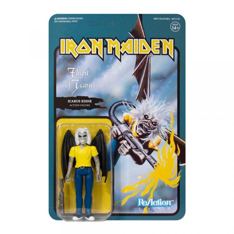 Iron Maiden Figura ReAction Wave 2 Flight of Icarus (Single Art) 10 cm