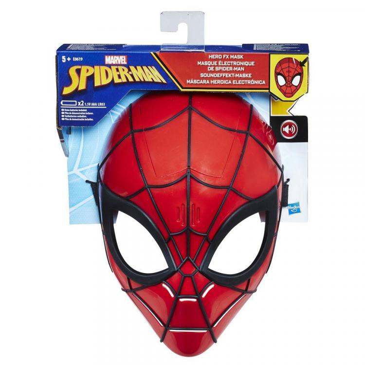 Spider-Man Máscara Heroica Electrónica Spider-Man