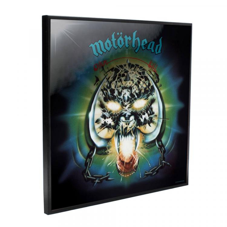 Motörhead Crystal Clear Picture Overkill 32 x 32 cm
