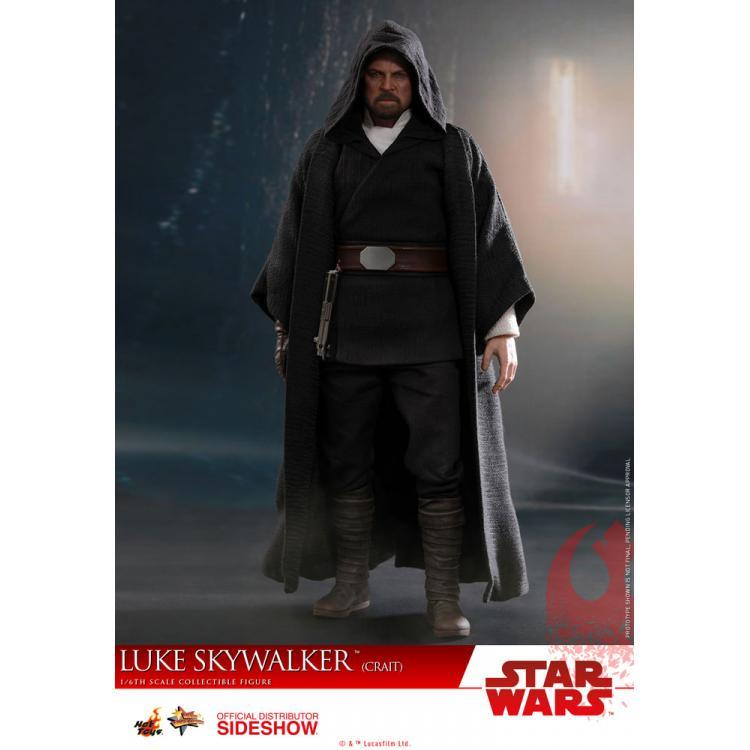 Luke Skywalker (Crait) Sixth Scale Figure by Hot Toys Star Wars Episode VIII - The Last Jedi - Movie Masterpiece Series