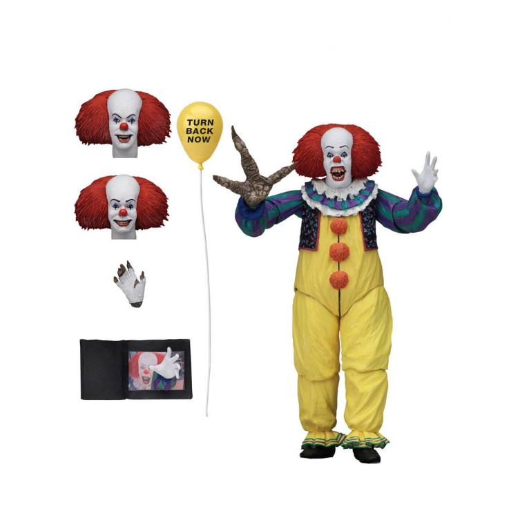 Stephen King\'s It 1990 Action Figure Ultimate Pennywise Version 2 18 cm