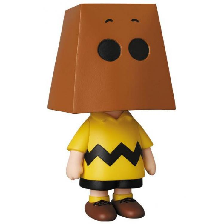 Peanuts Minifigura UDF Serie 10 Charlie Brown Grocery Bag Version 9 cm