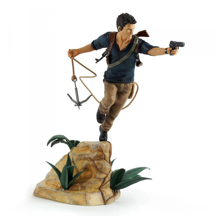 Uncharted 4 A Thief\'s Estatua PVC Nathan Drake 30 cm
