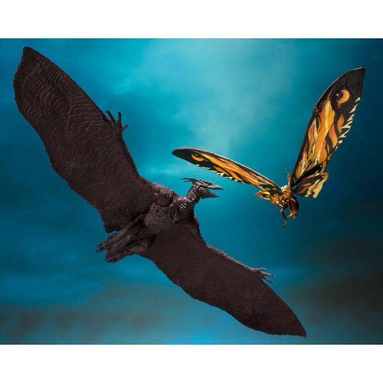 Godzilla: King of the Monsters 2019 S.H. MonsterArts Action Figure 2-Pack Mothra & Rodan