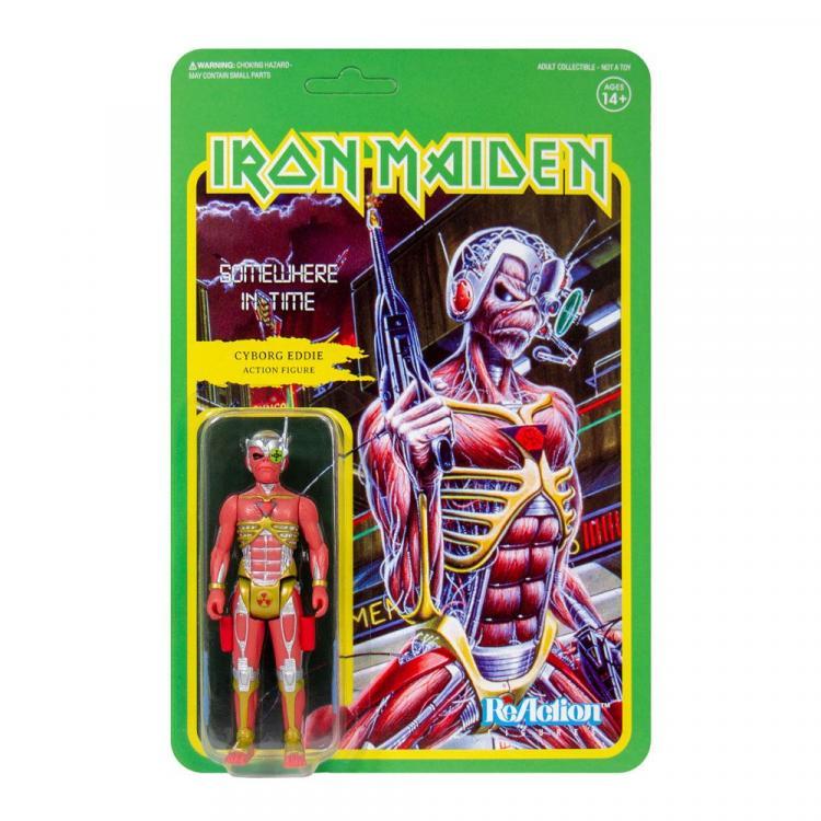 Iron Maiden Figura ReAction Wave 2 Somewhere in Time (Album Art) 10 cm