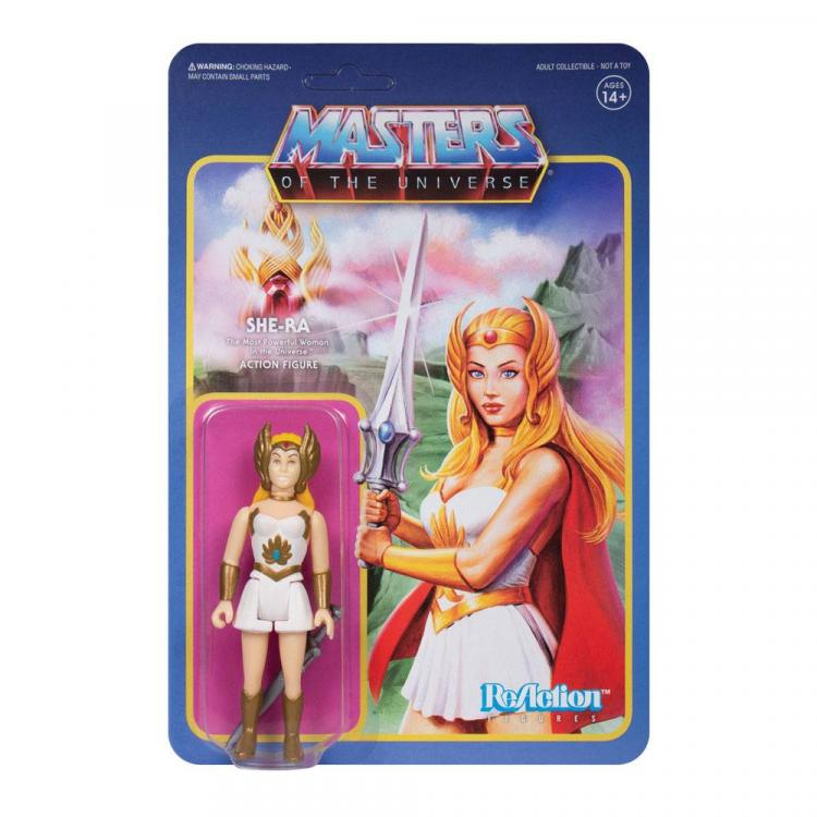 Masters of the Universe ReAction Action Figure Wave 5 She-Ra 10 cm