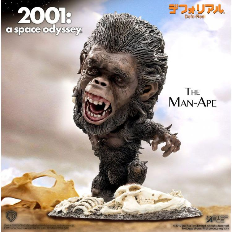 2001: A Space Odyssey Artist Defo-Real Series Soft Vinyl Figure The Man-Ape 15 cm