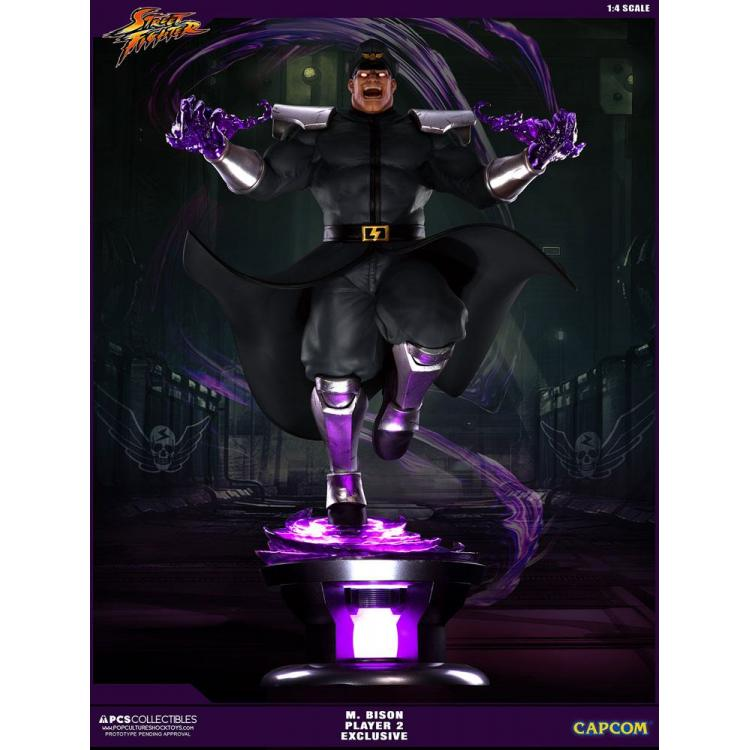Street Fighter V Statue 1/4 M. Bison Player 2 Exclusive 68 cm