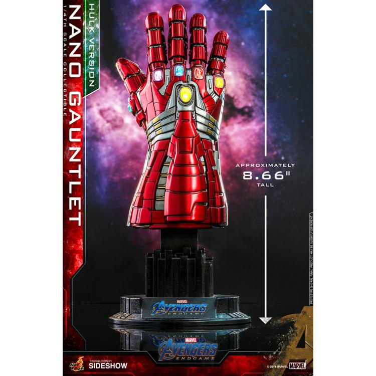 Nano Gauntlet (Hulk Version) Quarter Scale Figure by Hot Toys Accessories Collection Series - Avengers: Endgame