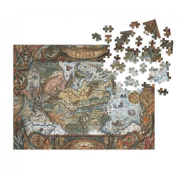 Dragon Age Puzzle World of Thedas Map (1000 piezas)