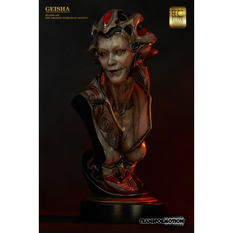 The Geisha Life Size Bust by Akihito
