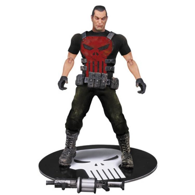 Marvel Universe Figura 1/12 Punisher Deluxe Previews Exclusive 15 cm
