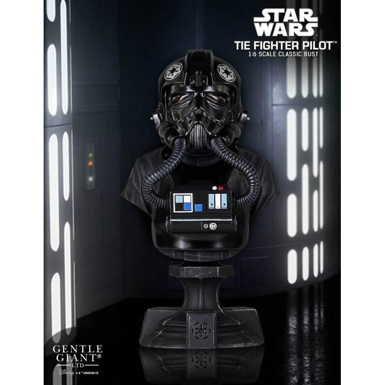 Star Wars Busto 1/6 TIE Fighter PGM Exclusive 13 cm