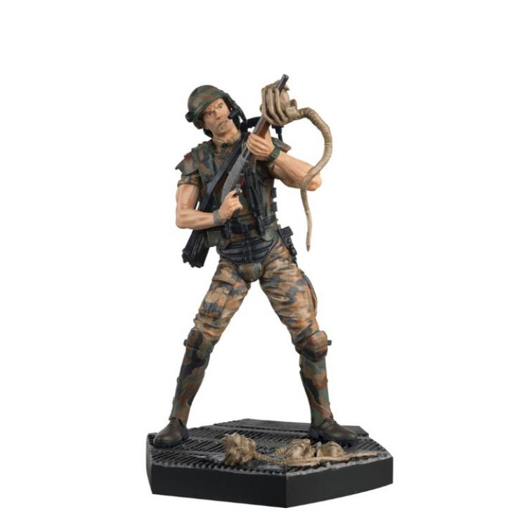 The Alien & Predator Figurine Collection #3 Hicks 13 cm